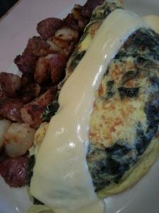 Florentine Omelette